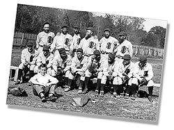 1931 House of David Traveling Baseball Team