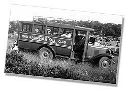 1930 House of David Auto Bus