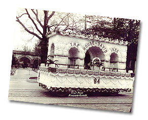 1926 House of David Blossom Parade Float