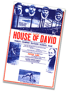 1934 Israelite House of David baseball poster