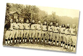 1927 House of David Traveling Baseball Team