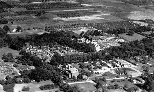 Aerial View of Mary's City Of David In 1937