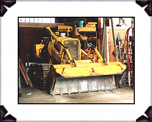1964 John Deere 1010C crawler/front loading attachment is in for maintenance schedule.