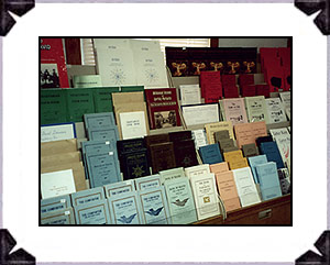 The giftshop literature display includes printed materials covering the inspirational writings from Jane Leade's, Ascent to the Mount of Vision, 1699, through the most recent publications from England on the life of Joanna Southcott. The Panacean Society (Southcott, England), New and Latter House of Israel, (James Jezreel, England and Washington State), the Christian Israelite Church (John Wroe, Sydney), and the colony's printed materials are all available. Many publications are free pamphlets, while other selections are priced volumes. It represents the largest collection of published materials, inclusive of the most notable congregations of the Christian-Israelite movement, for sale in the world. Many tour groups that visit are amazed at the deep religious roots that span over 3 1/2 centuries and have influenced a number of renown religious congregations of today's Christianity.