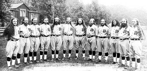 1927 House of David traveling `all-stars` team.
