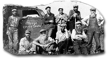 Mary's City of David harvest crew, Rocky farm, September,1940.
